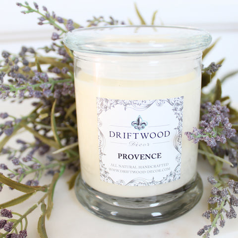 """Provence"" Organic Soy Candle"