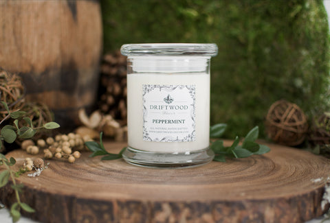 """Peppermint"" Organic Soy Candle"