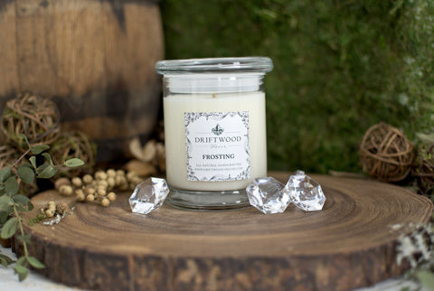"""Frosting"" Organic Soy Candle"