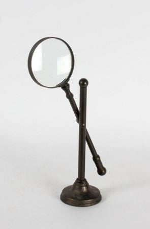 Hand Magnifier on Stand