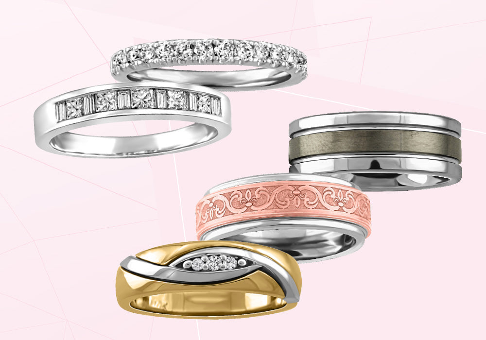 Choosing The Perfect Wedding Band Posted By Paris Jewellers On Aug 05 2015