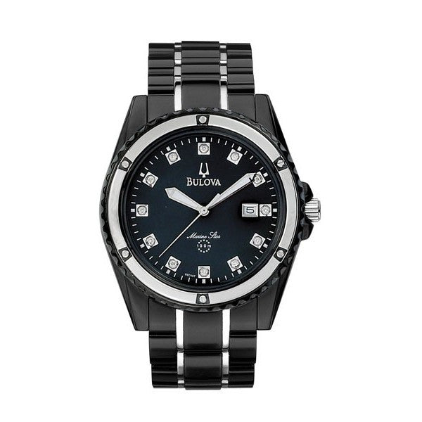 Bulova Men's Black Bracelet Watch
