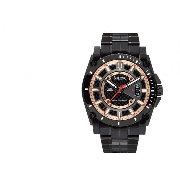 Bulova Men's Precisionist Charcoal Grey Watch