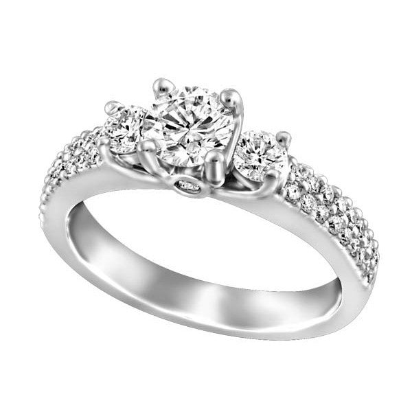 LADIES DIAMOND ENGAGEMENT RING RIN-ENG-2069