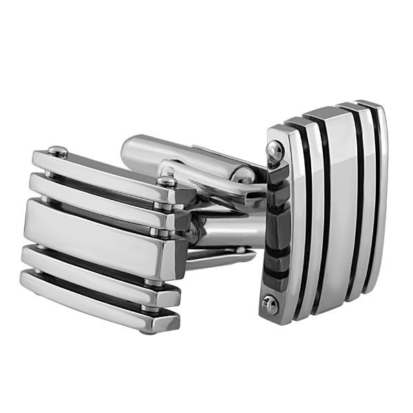 STAINLESS STEEL CUFFLINKS ACC-MST-0146