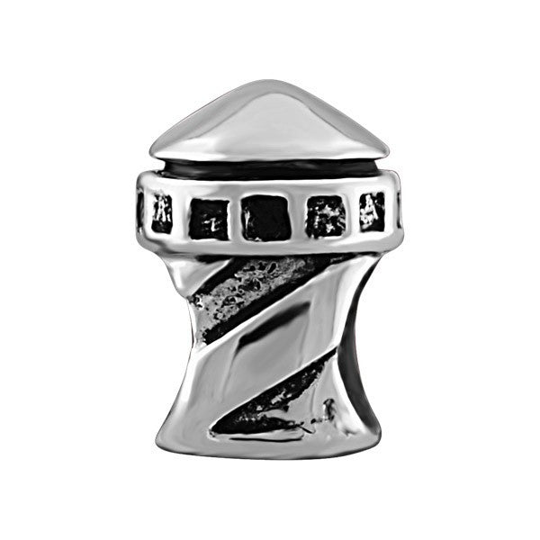 SILVER LIGHTHOUSE BEAD BEA-YAF-0025