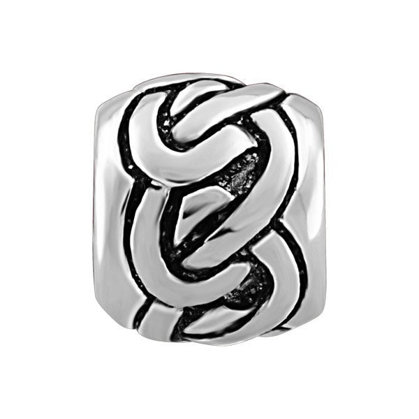 SILVER KNOTTED BEAD BEA-YAF-0032