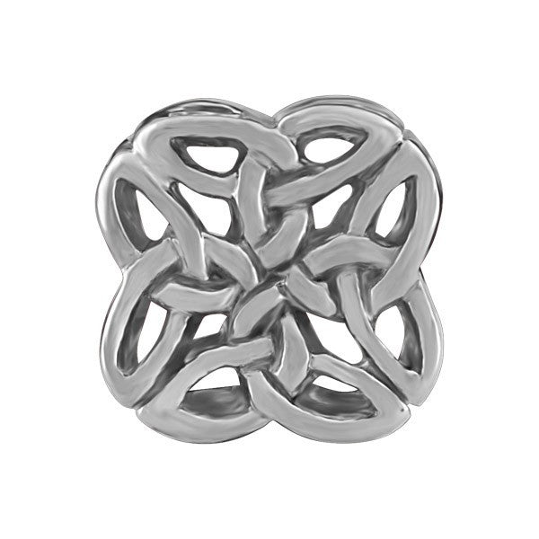 SILVER CELTIC KNOT BEAD BEA-YAF-0041