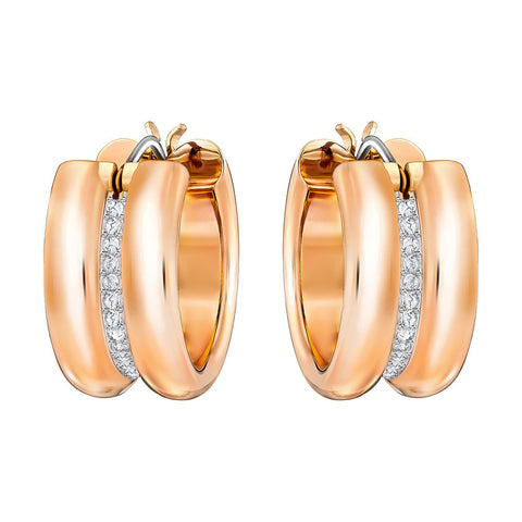 Swarovski Fun Hoop Pierced Earrings