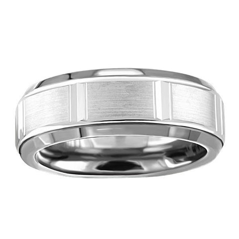 TUNGSTEN CARBIDE AND 14KT GOLD RING RIN-TUN-0373