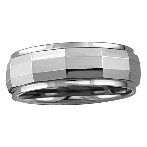 TUNGSTEN CARBIDE RING RIN-TUN-0416