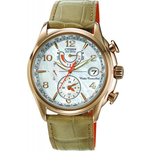 Citizen Women's Leather Strap Watch
