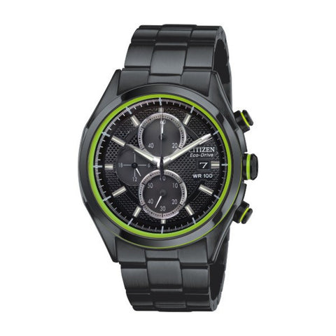 Citizen Men's Black Chronograph Watch