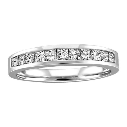 .50 CTW WHITE GOLD DIAMOND ANNIVERSARY BAND RIN-LAN-0250