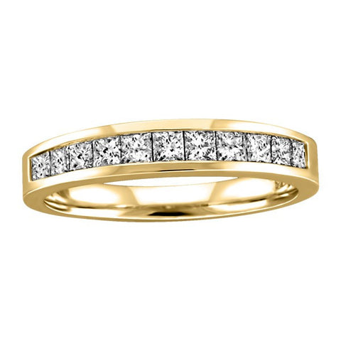 1.00 CTW GOLD DIAMOND ANNIVERSARY BAND RIN-LAN-0251