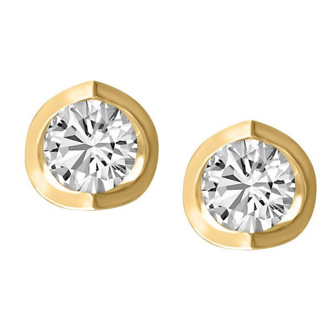 0.25 CT GOLD DIAMOND STUD EARRINGS EAR-DIA-1417