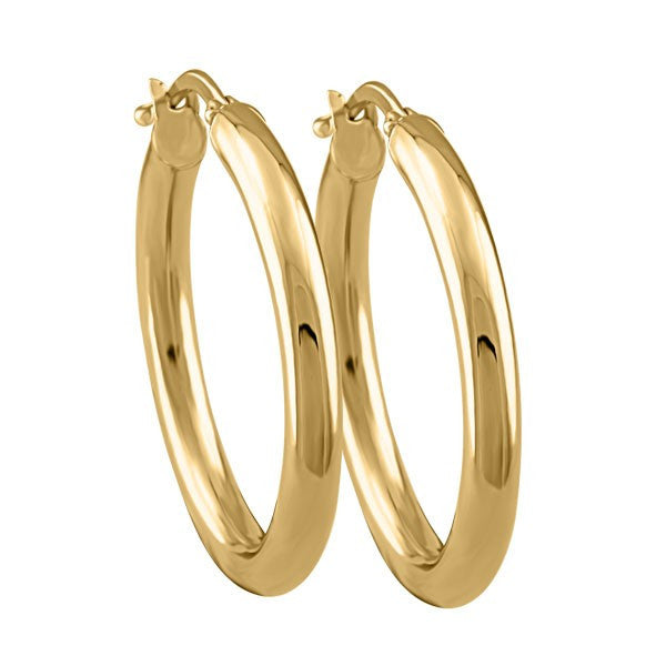 GOLD HOOP EARRINGS EAR-GLD-3732