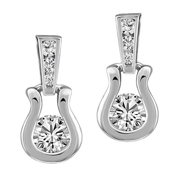 CAPTURED HEARTS CANADIAN DIAMOND EARRINGS EAR-CAN-0414