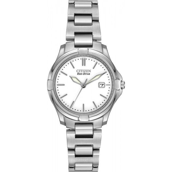 Citizen Women's Silhouette Silver Tone Watch