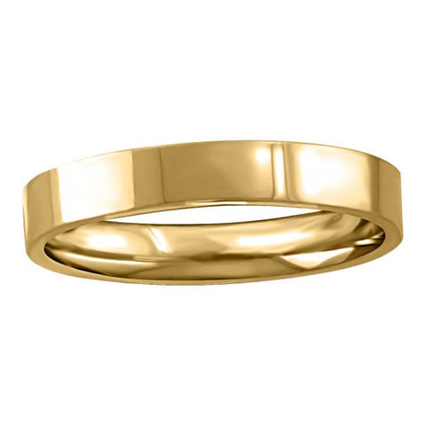 GOLD 3MM PIPE WEDDING BAND RIN-WBG-1367