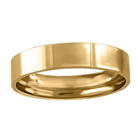 GOLD 4MM PIPE WEDDING BAND RIN-WBG-1368