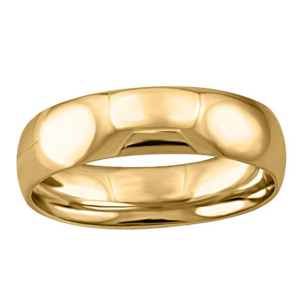 GOLD 5MM WEDDING BAND RIN-WBG-1381