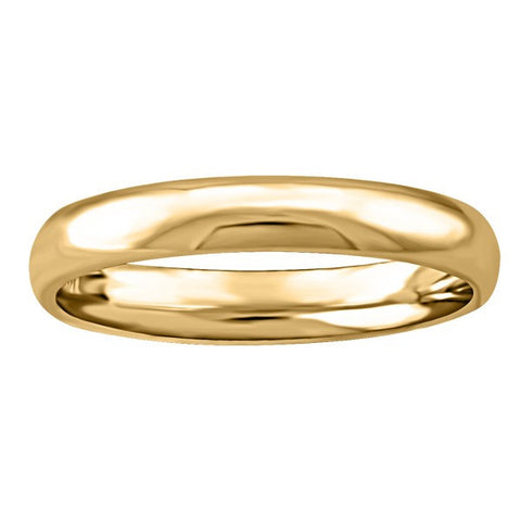GOLD 3MM WEDDING BAND RIN-WBG-1394