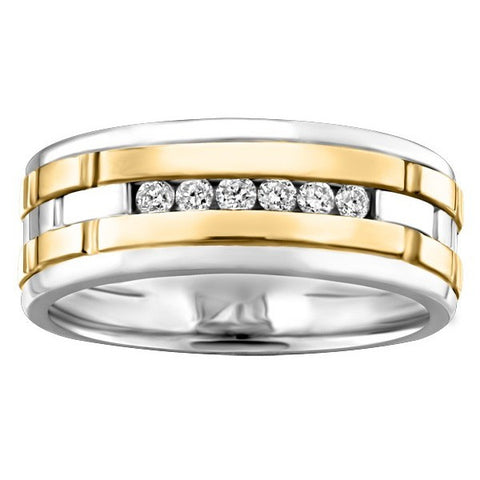 BRILLIANT DIAMOND WEDDING BAND  RIN-MWB-0350