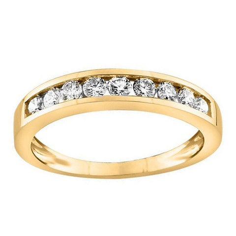 .25 Carat Gold Diamond Anniversary Band