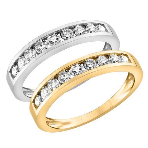 .50 Carat Gold Diamond Anniversary Band