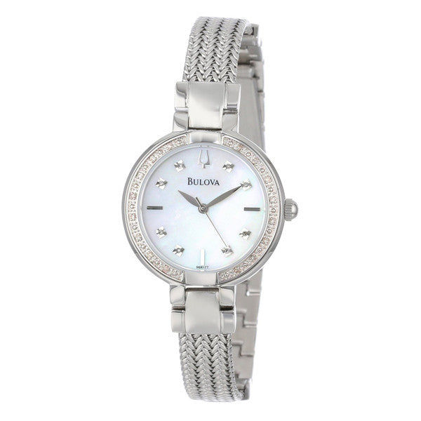 Bulova Women's Diamond Case Watch