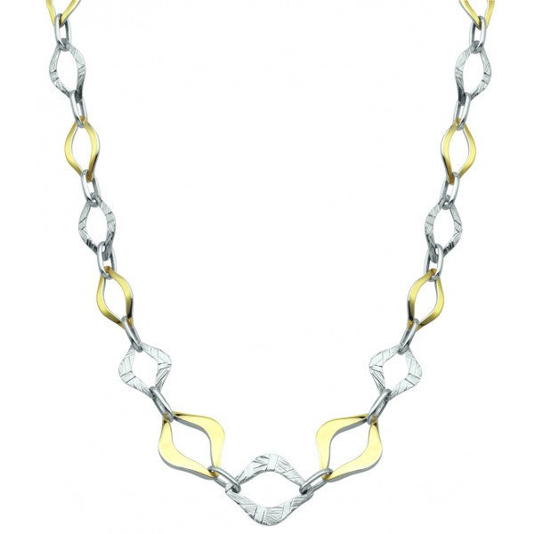 "18"" SILVER 10KT GOLD FILLED NECKLACE NEC-SIL-0096"