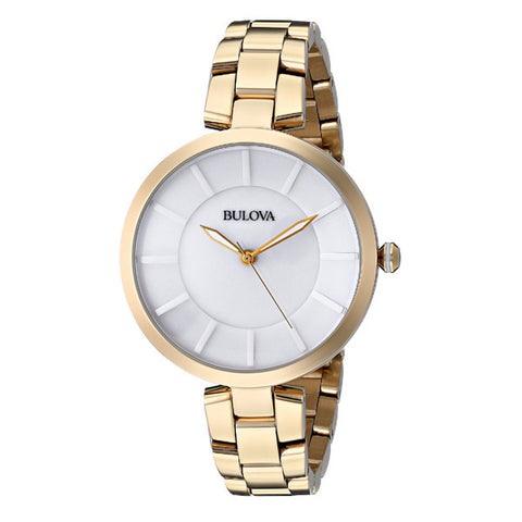 Bulova Women's Classic Gold Stainless-Steel Watch