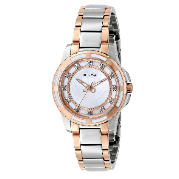 Bulova Women's Diamond Dial Watch
