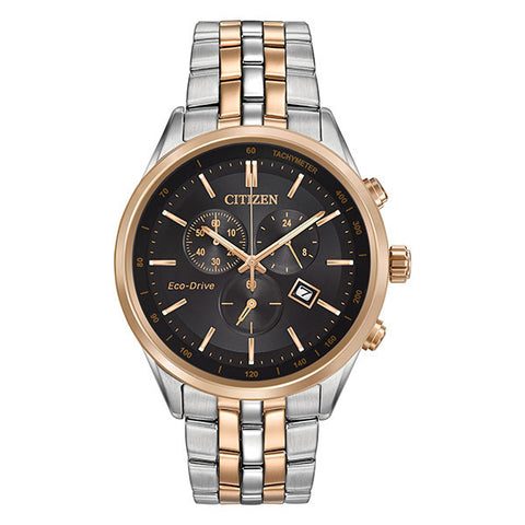 Citizen Men's Sapphire Collection Two Tone Watch