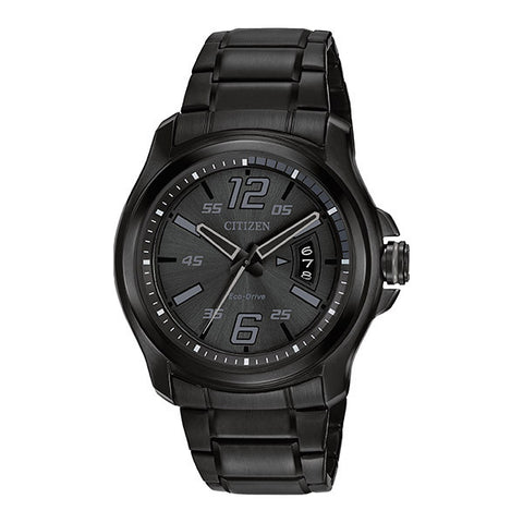 Citizen Men's HTM Black Dial Watch