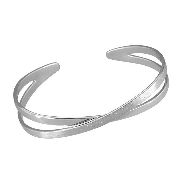 Silver Stardust Bangle