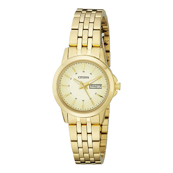 Citizen Women's Analog Display Japanese Quartz Gold Watch