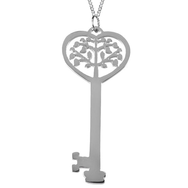 Stainless Steel Key Pendant
