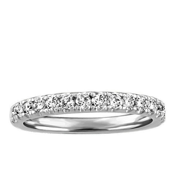 White Gold 0.50 Carat Diamond Anniversary Band