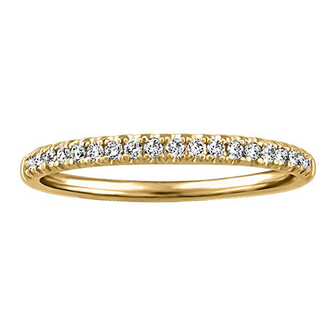 Gold Diamond Anniversary Band