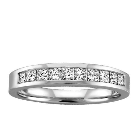 .45 Carat White Gold Destiny Diamond Band