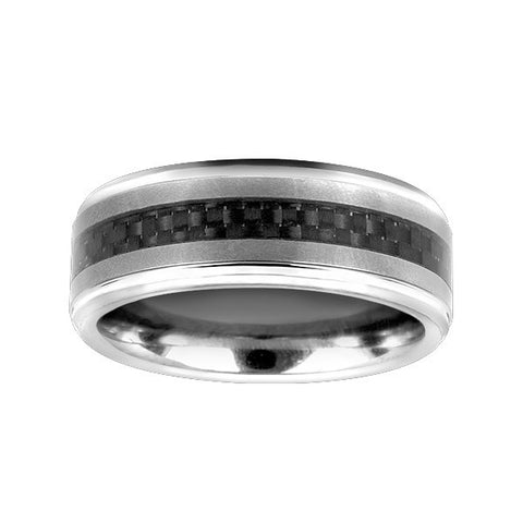 Mens Tungsten Carbide Wedding Ring