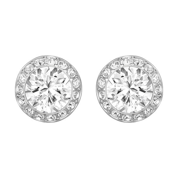 "Swarovski Crystal Rhodium ""Angelic"" Earrings"