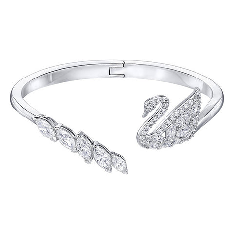 Swarovski Crystal Swan Lake Bangle