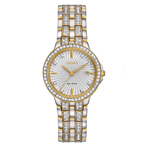 Citizen Women's Silhouette Quartz Two Tone Watch