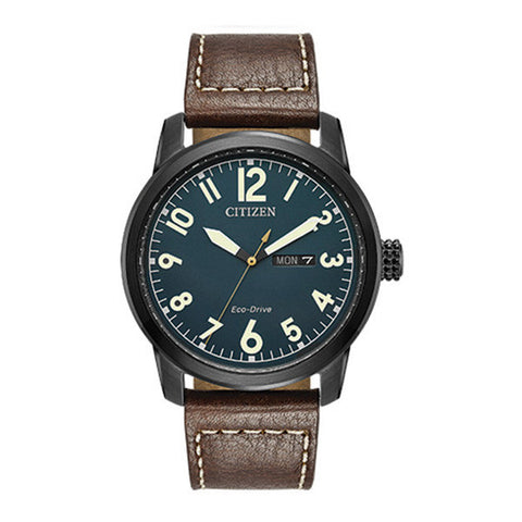 Citizen Men's Eco-Drive Brown Chandler Watch