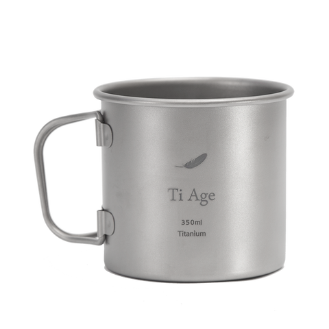 Titanium Coffee Mug 400ml