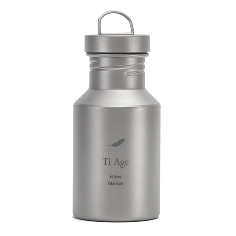 Titanium Water Bottle 400ml