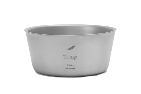Titanium Cookware - Small bowl 550ml